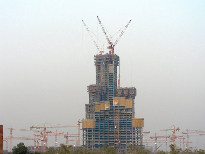 Analysis of the burj khalifa tower project