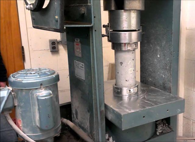 Procedure For Concrete Compression Test Concrete Sample
