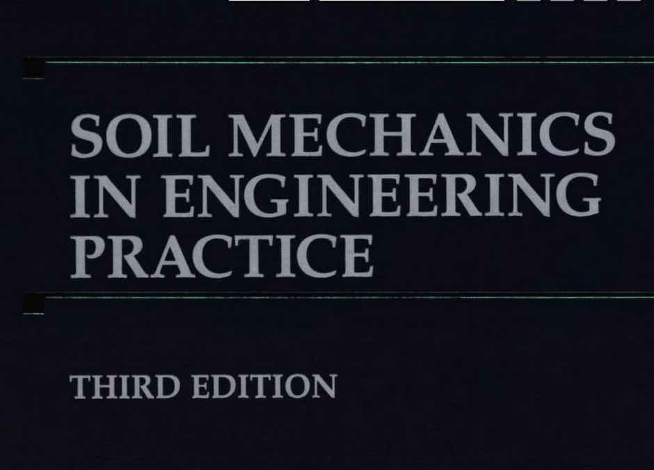 Book soil mechanics in engineering practice by karl for Soil 2017 book