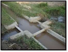 A water distribution system in Surface Irrigation Channels