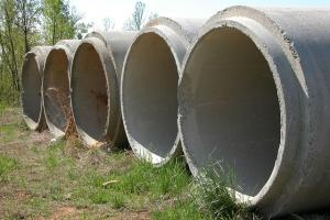 Concrete Pipes used in Urban Drainage System